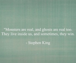 ghosts, monsters, and Stephen King image