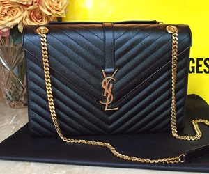 YSL, bag, and girly image