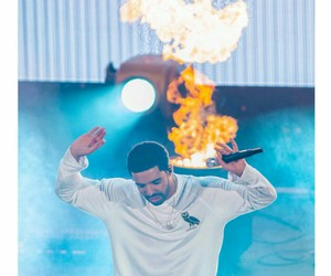 Drake and fire image
