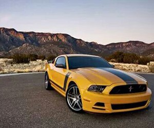 boss, cars, and mustang image