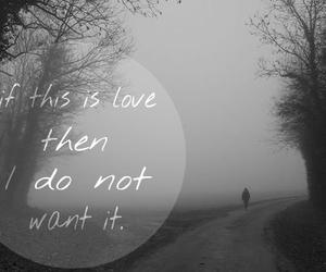love, alone, and hurt image