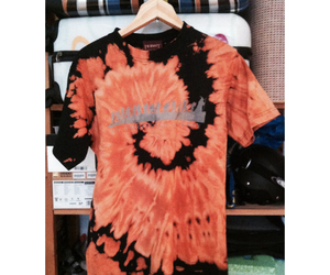 bleached, dye, and tie dye image