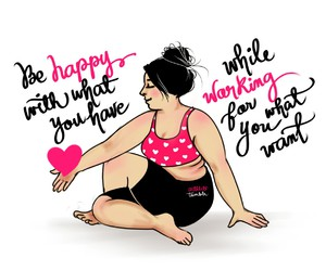 fitness, motivation, and happy image