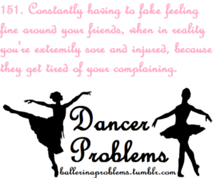 ballet, problems, and text image