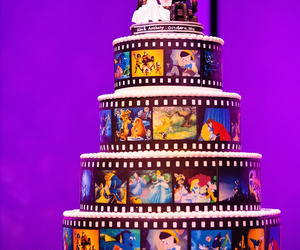 disney cake wedding image