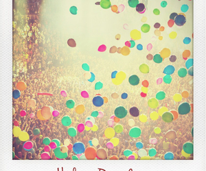 concert, helium balloons, and music image