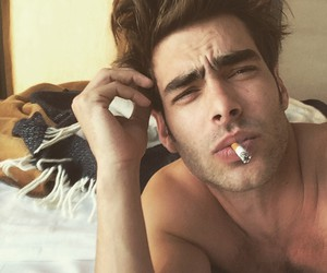 sexy, boy, and cigarette image