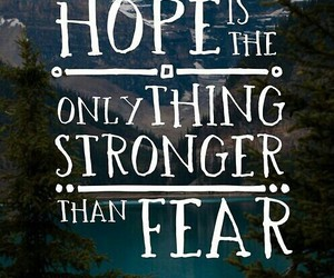 fear, life, and hope image