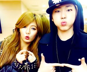 zico, hyuna, and block b image
