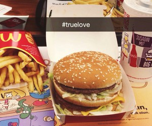 food, love, and true love image