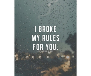 love, quote, and rules image