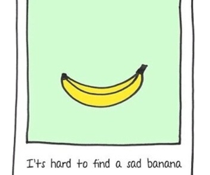 banana, happy, and sad image
