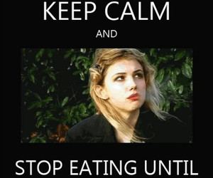 skin, cassie, and keep calm image