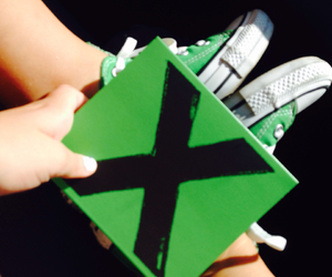 converse, green, and summer image