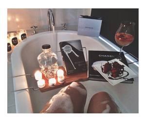 bath, chanel, and candle image
