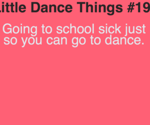 dance and sick image