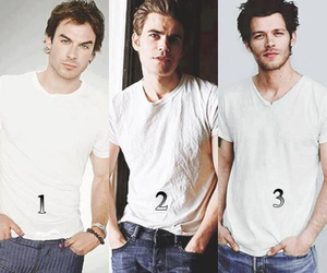 ian somerhalder, joseph morgan, and paul wesley image