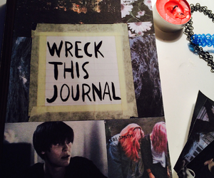 book, cool, and wreck this journal image