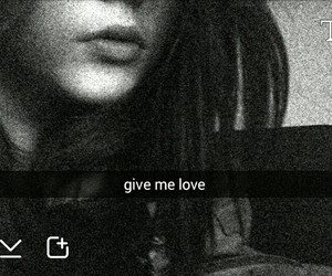 alone, black, and lips image