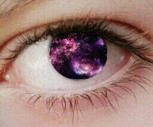 eyes, love, and galaxia image