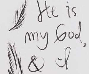 god, faith, and trust image