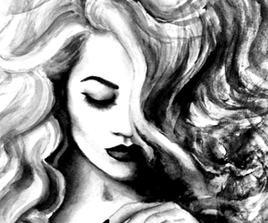 beautiful, art, and draw image