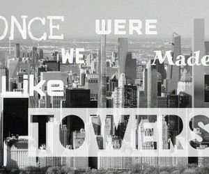 Lyrics, song, and Towers image
