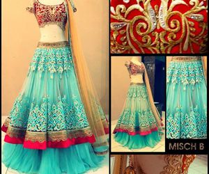 beautiful, dresses, and indian wear image