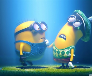 minions, cute, and despicable me 2 image