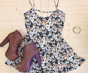 accessories, floral, and pretty image
