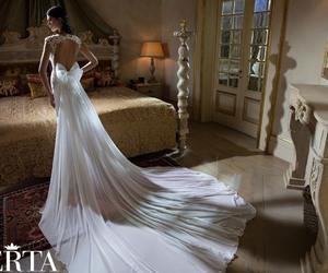 wedding dress and berta bridal image