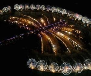 Dubai and fireworks image