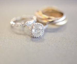 rings and wedding image