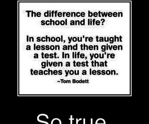 lesson, life, and so true image