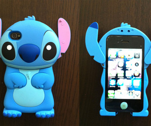 case, stitch, and cute image
