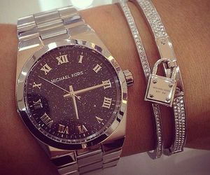 watch, Michael Kors, and luxury image