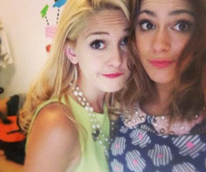 martina stoessel, mercedes lambre, and violetta image