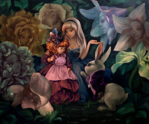 alice, alice in wonderland, and animated image