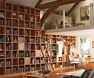 book and home image