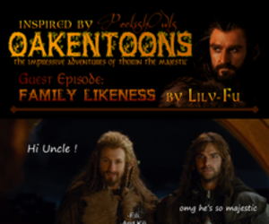 dwarves, kili, and LOTR image