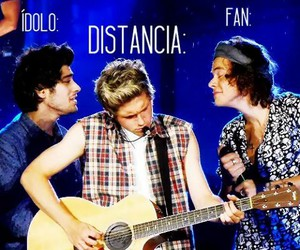 distancia, one direction, and niall horan image