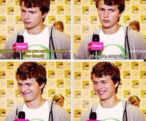 ansel elgort and the fault in our stars image