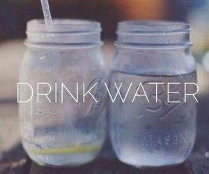 water, drink, and healthy image