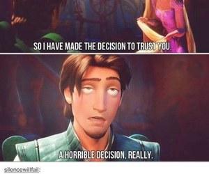 disney, funny, and rapunzel image