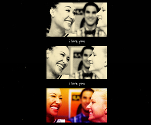love you and brittana image
