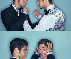 tyler posey, teen wolf, and brothers image