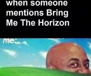 bands, bmth, and funny image