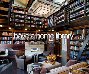 book, home, and library image