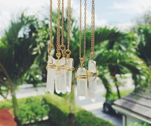 fashion, nature, and necklace image