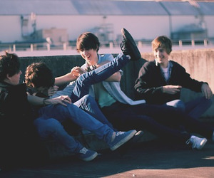 boy and friends image